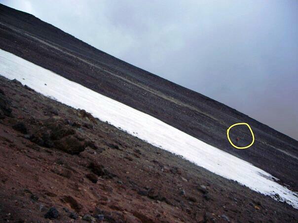 Incline of Mt Ngauruhoe